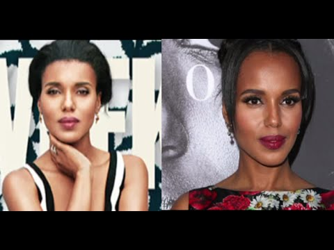 Kerry Washington Calls out AdWeek Cover | ABC News