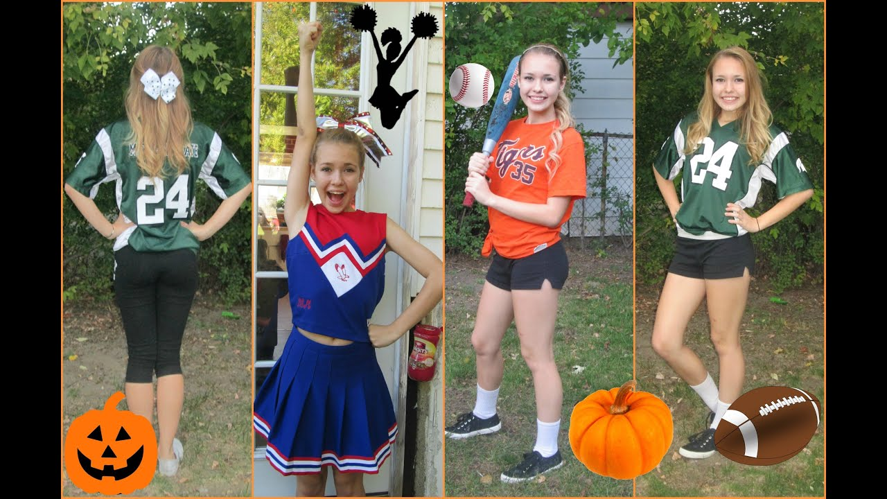 Spooktober 3 quick and easy sport costumes youtube solutioingenieria Images