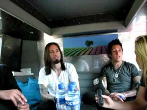 Papa Roach im Interview bei Gong 97,1