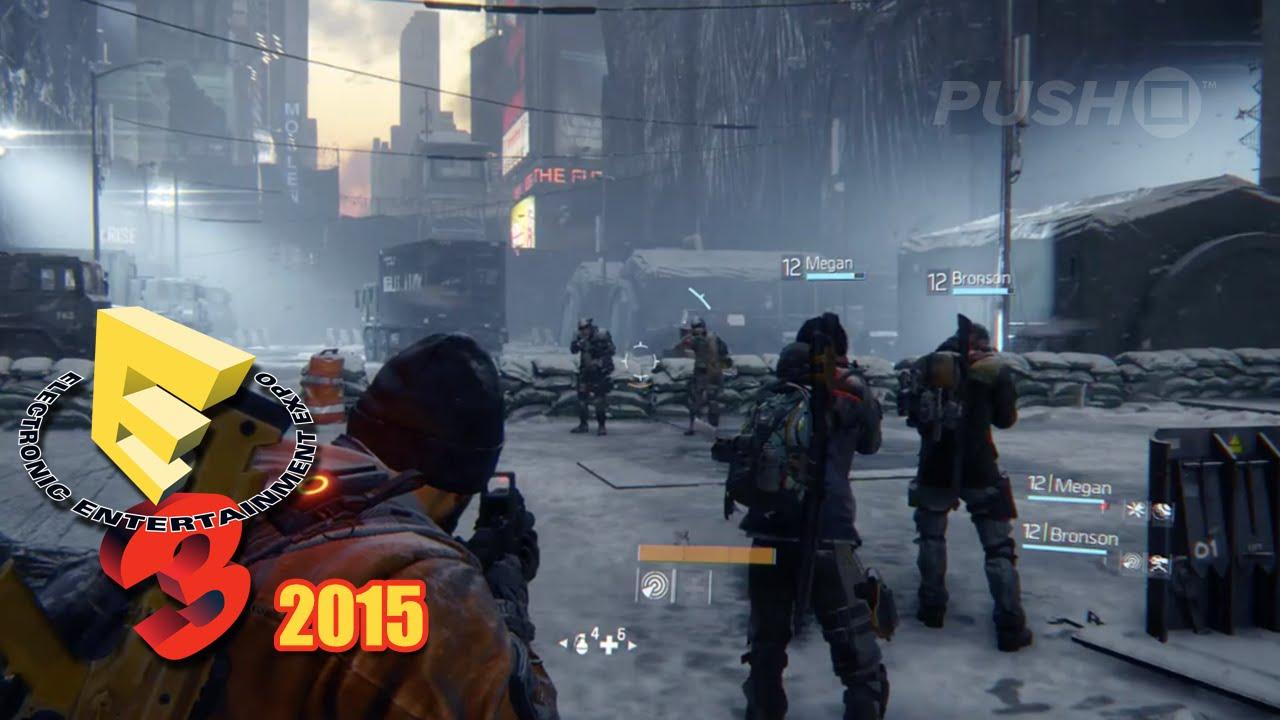 Tom Clancy's The Division (PS4) E3 2015 Dark Zone Multiplayer Demo