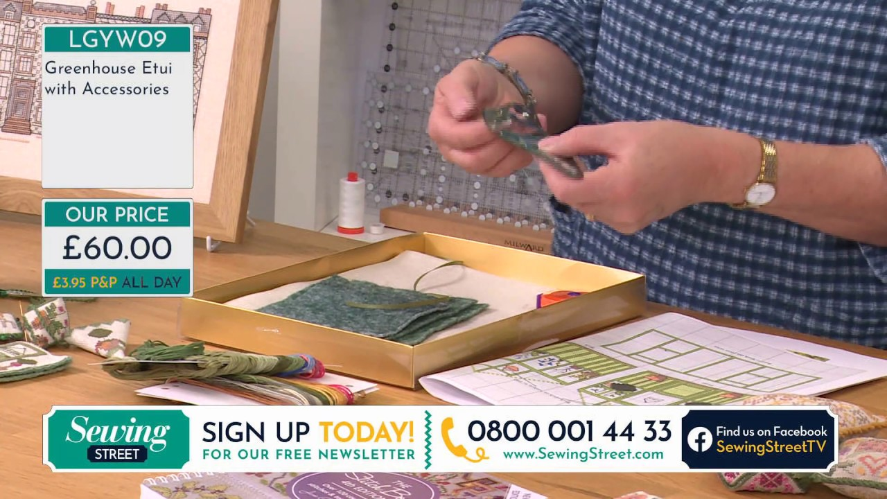 Sewing Street - 03/07/2020 - Cross Stitch with Jane Greenoff and Block of the Week with John