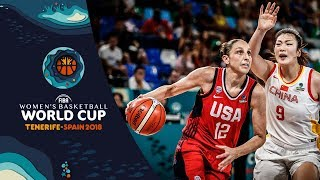 China v United States - Highlights - FIBA Women's Basketball World Cup 2018