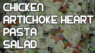 Chicken Pasta Salad Recipe - No Mayo Version