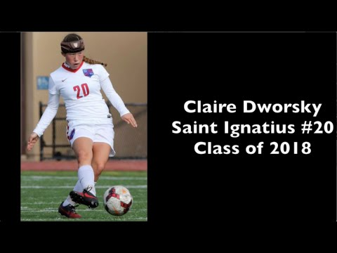 160113 Claire Dworsky Saint Ignatius #20 vs.  SHC Soccer