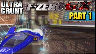 lets play f zero gx grand prix and story mode