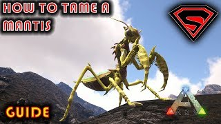 ARK HOW TO TĄME A MANTIS 2019 - NO GHILLE ARMOR OR BUG REPELLANT NEEDED