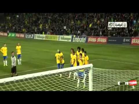 Brazil vs Italy  2 - 2 All Goals & Highlights 21/03/2013