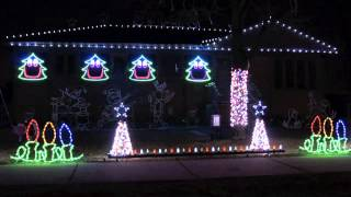 The Christmas Can-Can - Light-O-Rama and Cosmic Color Ribbons - Laff Christmas 2012
