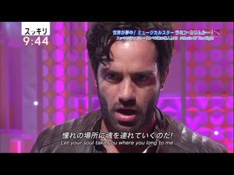 Ramin Karimloo  HIGHFLYNG,ADORED   Music Of The Night  ラミン・カリムルー Musical Evita エビータ&x30002018;.06.29