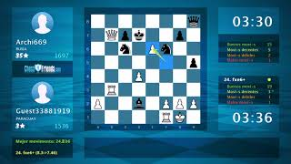 Chess Game Analysis Guest33881919 Archi669 1 0 By ChessFriends Com