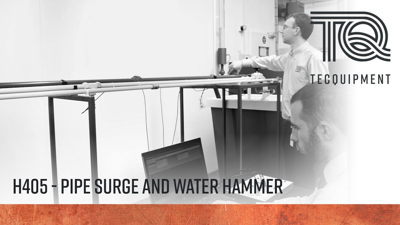 difference between pipe surge and water hammer