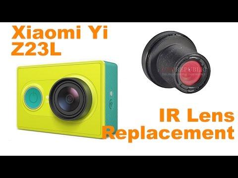 Xiaomi Yi Lens Replacement IR Filter Lens Focus Fix