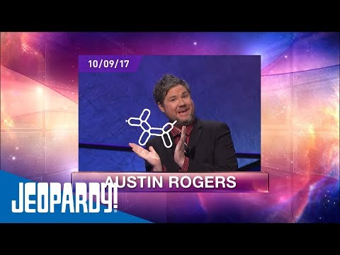 Austin Rogers does his show introductions differently than any other contestant before.