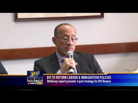 BVI TO REFORM LABOUR & IMMIGRATION POLICIES
