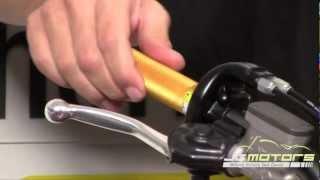 Pro Taper Twister Throttle Tube Installation