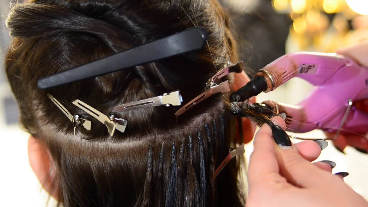 Haarverlangerung brasilianische methode essen