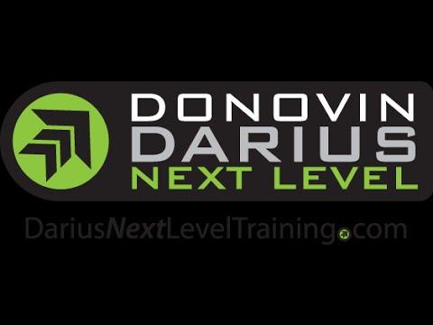 Donovin Darius Defensive Back Academy Marcos Reyes #1