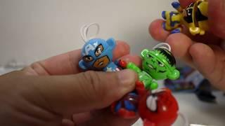 豪宅玩具~1294~(健達奇趣蛋獵奇怪作)2015健達巧克力健達奇趣蛋 健達出奇蛋 Marvel  漫威英雄 復仇者聯盟 公仔