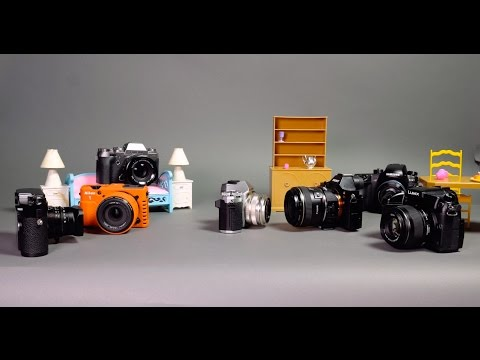 The Mirrorless Party of 2015: A Fun Stop-Motion Look at the State of the Industry