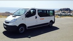 Opel Vivaro 9 Seats Mini Bus - Rent a Car Rhodes Rodos | GeorgeCars.com