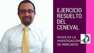 Ejercicio Resuelto del Ceneval: Investigacion de Mercados