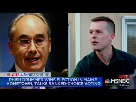 Katy Tur Interviews Jon Fishman On MSNBC