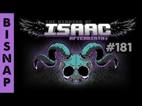 Bisnap Streams Isaac: Afterbirth+ - Part 181