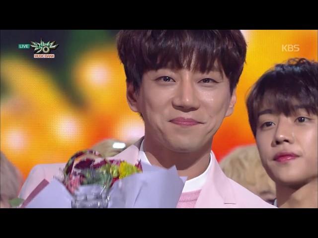 [뮤직뱅크] 5월 1주 1위 '황치열 – 별, 그대 (The Only Star)' 세리머니 Cut 20180508