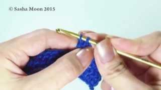 Обвязка края при вязании крючком -
