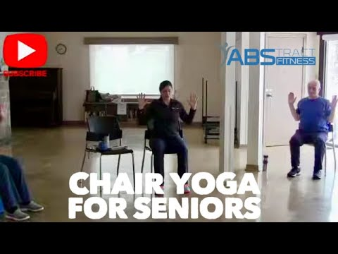 60-Minute: Chair Yoga For Beginners, Older Adults Or Seniors