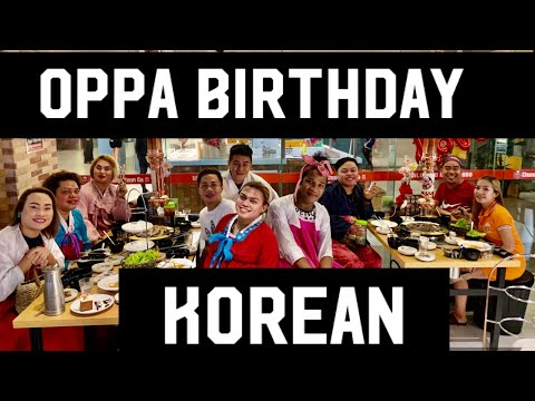 My KOREAN BIRTHDAY CELEBRATION CCYG KOREAN RESTAURANT | BRENDA MAGE