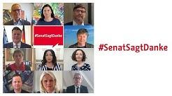 #SenatSagtDanke: Berliner Senat bedankt sich für Engagement gegen Corona