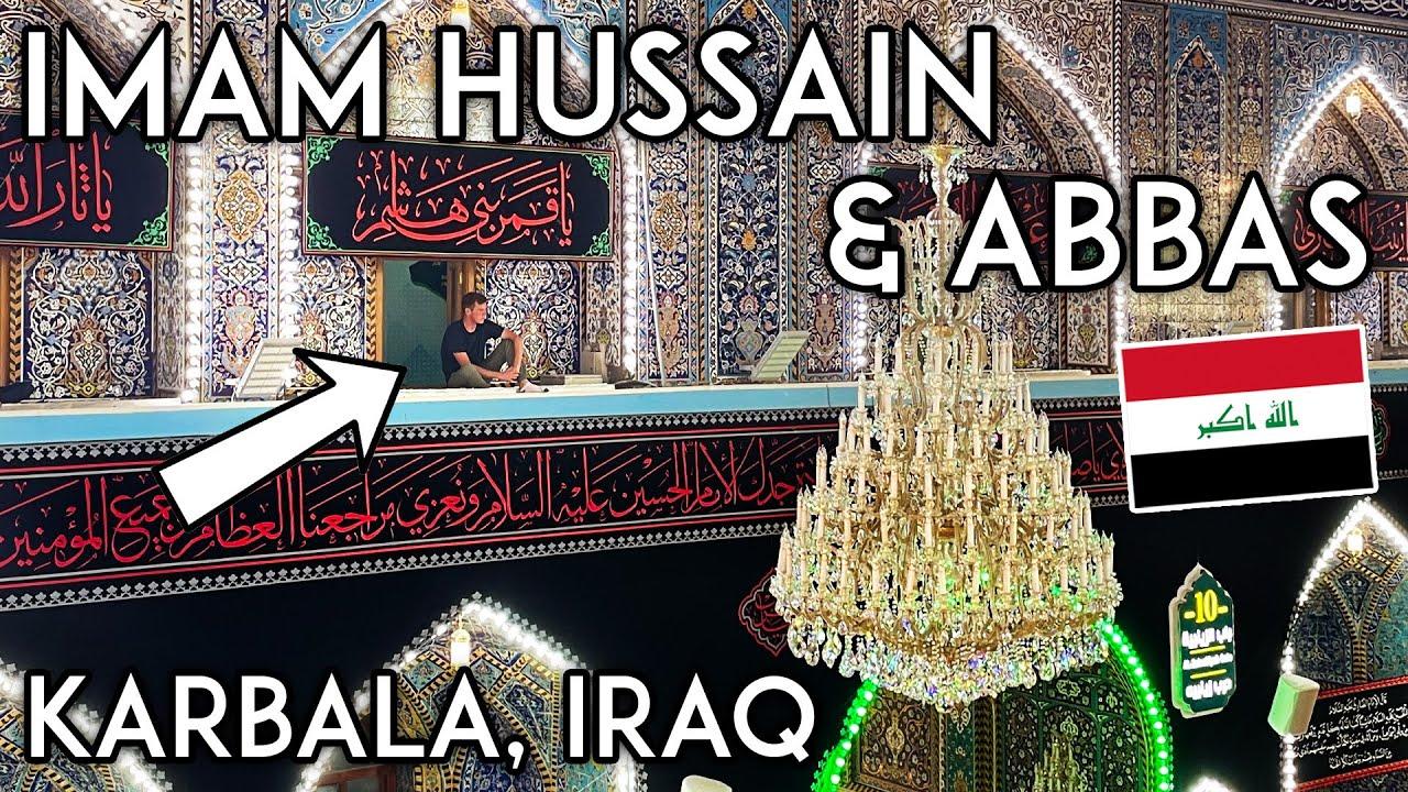 We Found the BEST View of Imam Hussain Shrine in KARBALA, IRAQ (+ Al-Abbas) Iraq Travel Vlog كربلاء