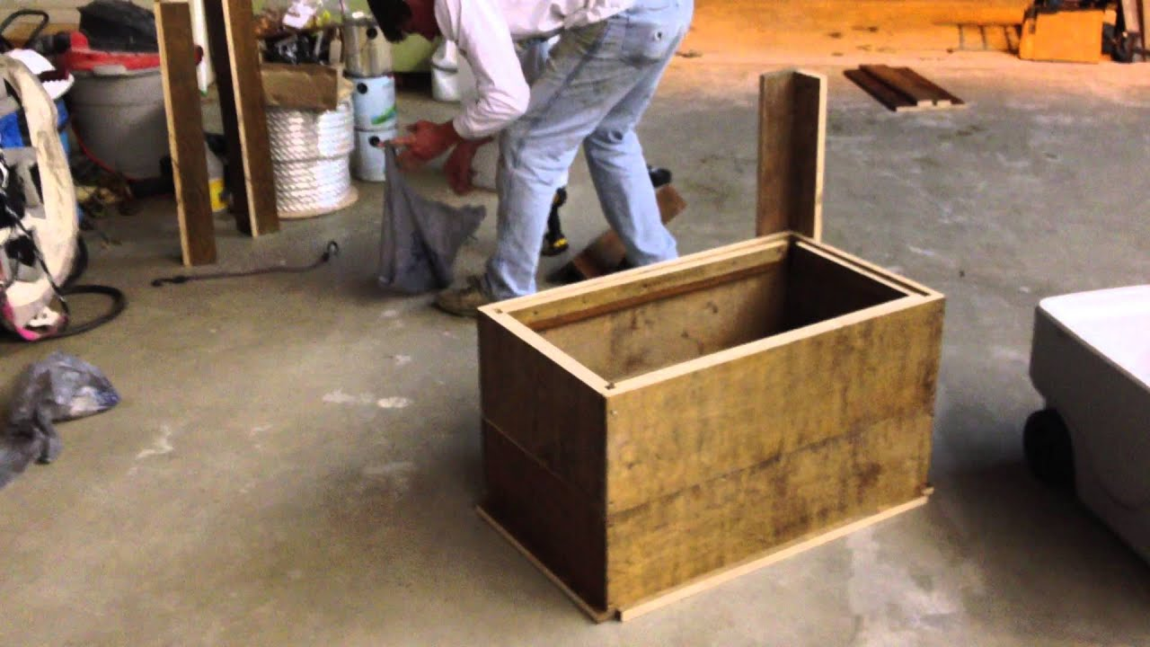 & How to make an Ice Chest Box - YouTube Aboutintivar.Com