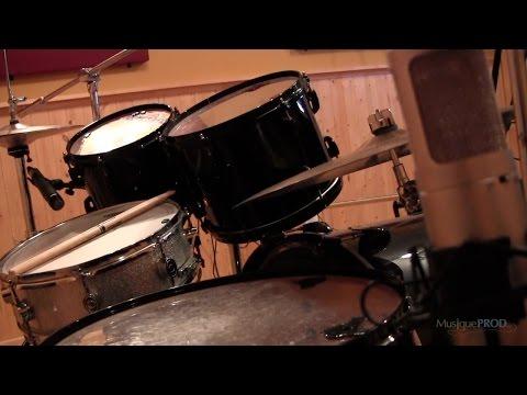 Enregistrement de batterie : la méthode Glyn Johns