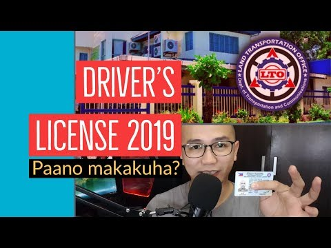 Driver's License - How to get a license in 2019 - LTO Philippines