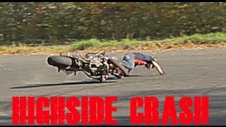 STUNTER 13 - HIGHSIDE DRIFT CRASH