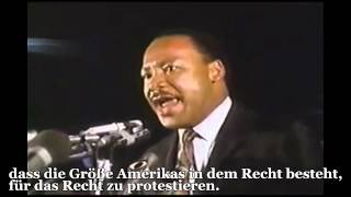 Martin Luther Kings letzte Rede | Mountaintop | DEUTSCH | Untertitel | Remix