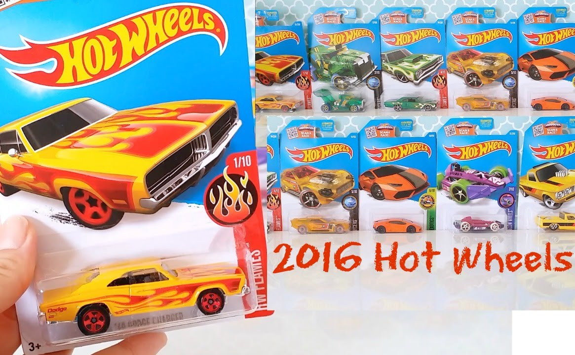 2016 hot wheels toy review youtube for 9 salon hot wheels 2016