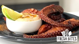 Seared Sous Vide Octopus
