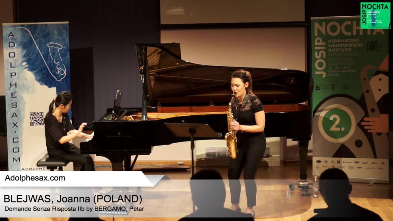Domande senza risposta IIb (Petar Bergamo) – BLEJWAS, Joanna (Poland)