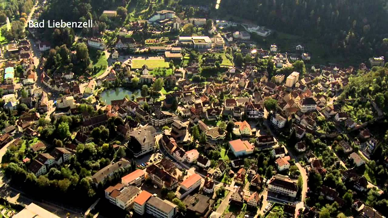 Luftportrait Bad Liebenzell - YouTube