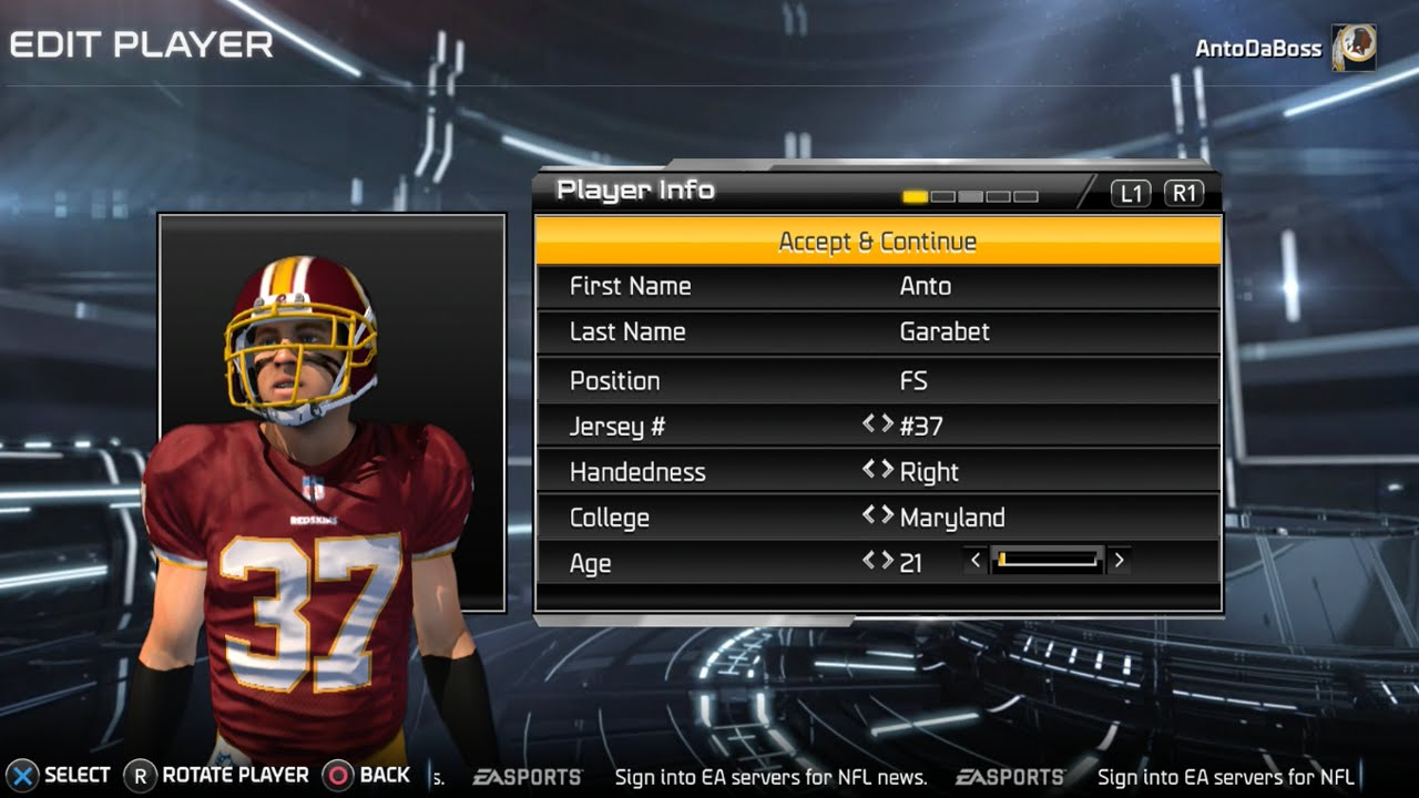 15acc288a72 Madden 15 Career Mode - The Creation Ep.1 - YouTube