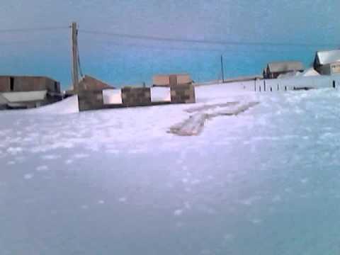 Метель в Башкортостане