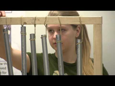 Robotic Chimes made by Engineering Students