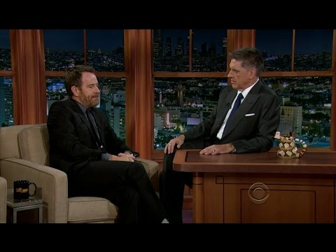 Late Late Show with Craig Ferguson 10/22/2012 Bryan Cranston, Dr Lisa Masterson