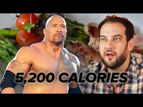Thumbnail: We Ate Like The Rock For 24 Hours