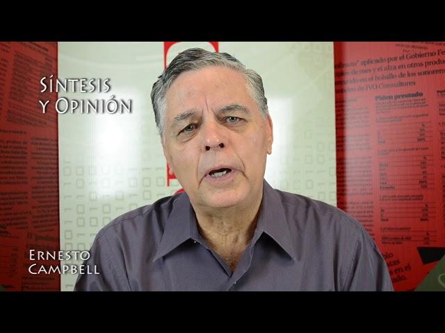 Ernesto Campbell (Buena señal la comparecencia)