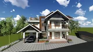 House Exterior Design: Kuruvachan, Kalluvelil House, Vandamattom, Thodupuzha, Kerala, India
