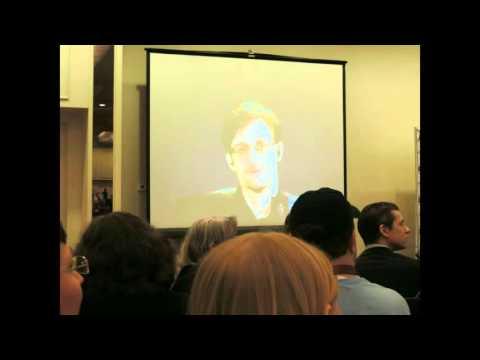 Edward Snowden at 2016 NH Liberty Forum